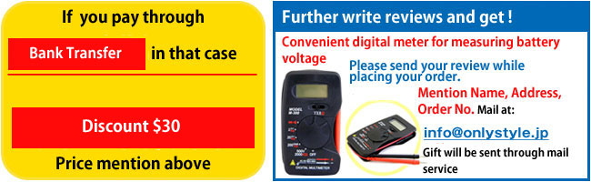 write your reviews and get a multimeter present.