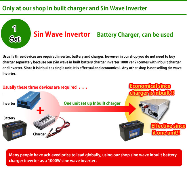 Many people have achieved price to lead globally, using our shop sine wave inbuilt battery charger inverter as a 1000W sine wave inverter.