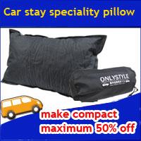 Pillow for car night halt mat
